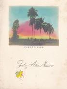 PUERTO RICO. FELIZ AÑO NUEVO/HAPPY NEW YEAR. CARD- CIRCA 1930S. - BLEUP - Postkaarten