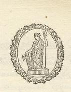 Héraldique Au Quartier Général à Colmar 15.8.1800 Armée Du Rhin Lettre En Franchise - Postmark Collection (Covers)