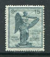 ITALIE- Y&T N°115- Neuf Avec Charnière * - Nuovi