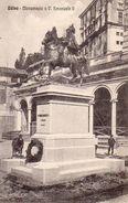 710Ax   Italie Udine Monumento A V. Emanuele II - Udine