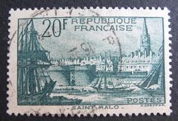 LOT R1703/540 - 1938 - PORT DE SAINT-MALO N°394 - France