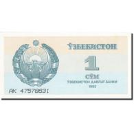 Uzbekistan, 1 Sum, 1992-1993, 1992, KM:61a, SUP+ - Ouzbékistan