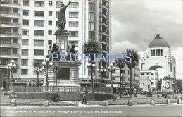 80798 MEXICO D. F MONUMENTO A COLON Y A LA REVOLUCION POSTAL POSTCARD - Mexico