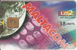 MALTA - Maltacom Design, 11/00, Used - Malta