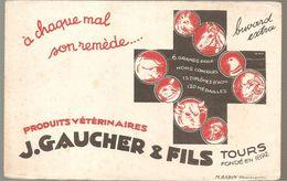 Buvard J. GAUCHER & Fils à Tours Produits Vétérinaires - Agriculture