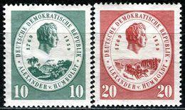 DDR - Michel 684 / 685 - ** Postfrisch (A) - 10-20Pf  Alexander Von Humboldt - [6] République Démocratique