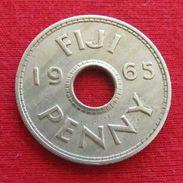 Fiji 1 Penny 1965 KM# 21 *V1 - Figi