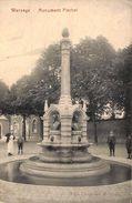 Warsage - Monument Flechet (animée, Edit. Chapelier, 1908) - Dalhem