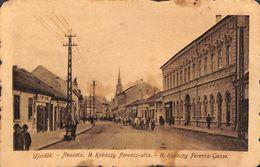 Ujvidek Neusatz Rakoczy Ferencz-utca (animation, Attelage Boeufs) - Hongrie