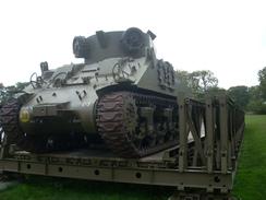 WW2 - Char M32B1 Sherman  TRV (Tank Recovery Vehicle) Sur Pont Bailey - Vehicles