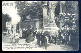 Cpa Du 22  Saint Brieuc La Statue Vénéré De N. D. D' Espérance    SEP17-46 - Saint-Brieuc