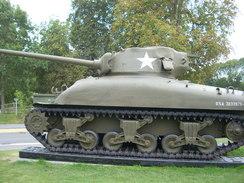 WW2 -Char Sherman M4A1 Medium - Vehicles