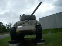 WW2 -Char Sherman M4A1 Medium - Fahrzeuge