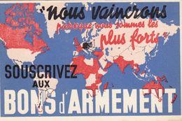 Nous Vaincrons - Bons D'armement - Propagande - Advertising