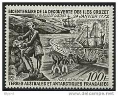 TAAF, PA N° 027** Y Et T, 27, Bicentenaire Des Iles Crozet, - Corréo Aéreo