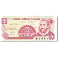 Nicaragua, 5 Centavos, 1991-1992, 1991, KM:168a, NEUF - Nicaragua