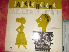 """33 T   Offenbach  """"  La Belle Hélène  """"  Solistes Et Choeur Philarmoniques De Paris  Avec   René  Leibowitz - Opera"""