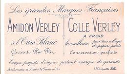 Buvard VERLEY Les Grandes Marques Amidon VERLEY Colle VERLEY Amidonnerie Et Rizerie De France à Marquette Lille - Paints