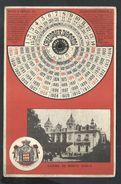 +++ CPA - Fantaisie - Monaco - Casino De MONTE CARLO - Calendrier DIAMANDI - Carte à Système  // - Monte-Carlo