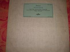 """33 T   Massenet   """"  Werther  """"  Par  Ninon  Vallin  -  Germaine  Feraldy  -  Georges  Thill  .... - Opera"""