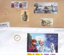 POLOGNE Beau Lot Varié De 12 Enveloppes - POLAND Very Nice Covers Circulation - Timbres