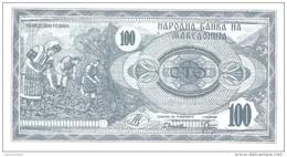 Macedonia - Pick 4 - 100 Denar 1992 - Unc - Macédoine