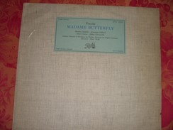 "33 T   Puccini  ""  Madame  Butterfly  ""  Martha  Angelici  - Jeannine  Collard  - Albert  Lance  -  Julien  Giovanetti - Opera"