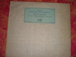"33 T   Puccini  ""  Madame  Butterfly  ""  Martha  Angelici  - Jeannine  Collard  - Albert  Lance  -  Julien  Giovanetti - Oper & Operette"