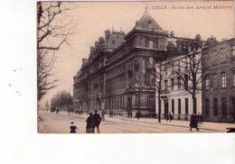 Cpa 59 Lille - école Des Arts Et Métiers - Lille