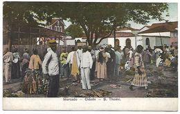 SAO TOME - Mercado - Cidade - Sao Tome Et Principe