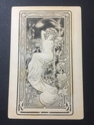 Art Nouveau - Beautiful Lady - Mucha Style - Pinkawa - Pinkawa