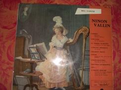 "33 T    Récital  De  NInon  Vallin    ""   Carmen  -  Fortunio  -  L'amour Sorcier .... - Opera"