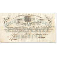 Jersey, 5 Pounds, 1840, 1840-09-01, KM:A1b, SUP - Jersey