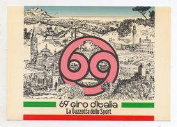 Italia - 1986 - 69° Giro D'Italia - 19^ Tappa - Cremona - Pejo (Trento)  - Con Annulli Filatelici - (FDC6043) - Wielrennen