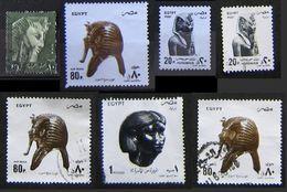 Egitto Lot 7 Stamps UAR & Air Mail 1993 - 1997 Faraone Pharaoh Maks - Egypt