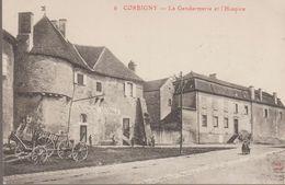 Corbigny - La Gendarmerie Et L'hospice - Corbigny