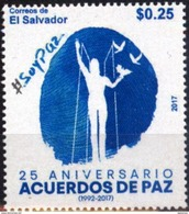Salvador 2017 ** 25 Aniversario De Los Acuerdos De Paz. See Desc. - El Salvador