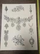 ENV 1868 CHEF D OEUVRE ART INDUSTRIEL BIJOUTERIE DE MONTALAN - Vieux Papiers