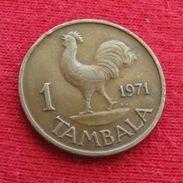 Malawi 1 Tambala 1971 KM# 7.1 - Malawi
