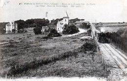 Cpa(17)-environs De Royan-route De La Grande Cote - Le Platin Les Villas-phare De Terre Nègre- - Royan