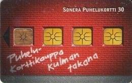 TARJETA TELEFONICA DE FINLANDIA (410). - Finlandia