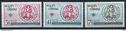 Cambodge YT 249-251 XX/MNH - Cambodge