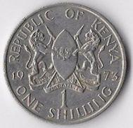 Kenya 1973 1 Shilling [C712/2D] - Kenya