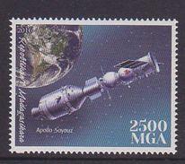Madagascar 2016 Space Apollo Soyouz MNH 1V - Madagascar (1960-...)
