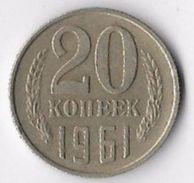 USSR 1961 20 Kopeks [C715/2D] - Russia