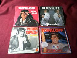 PATRICK  TOPALOFF   °  COLLECTION  DE  10  / 45 TOURS - Complete Collections