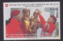Malta Ordre 2010 Prepare The Celebration MNH 1V - Sovrano Militare Ordine Di Malta