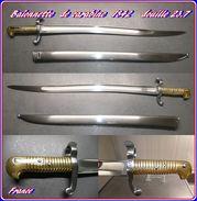 Baïonnette  De Carabine    1842    Premiere Fabrication    Douille  De 23.7 - Knives/Swords