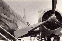 Photo Originale Hélices Du Lockheed Constellation, Avion De Ligne à Quatre Moteurs En étoile Wright R-3350 De 18 Cylindr - Aviazione