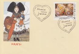 Enveloppe    ALSACE  COMME  J' AIME     REICHSHOFFEN    2012 - Cachets Commémoratifs